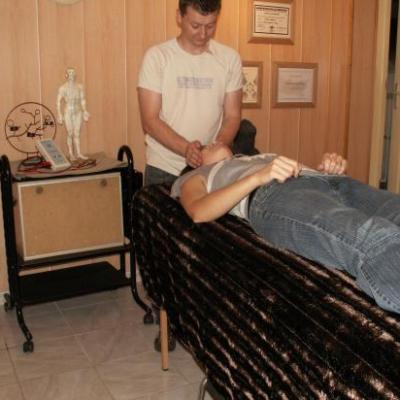 séance d'aurathérapie